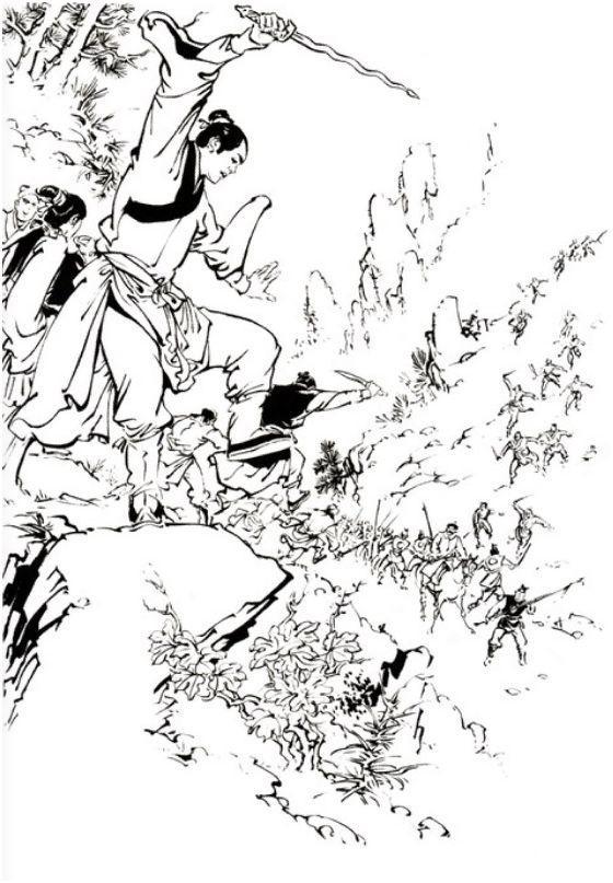 吟花浪哥(_shuirj.com-金庸《碧血剑》插图欣赏
